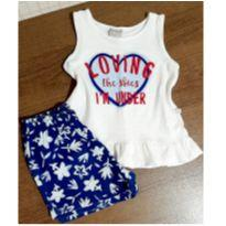 Conjunto charmoso Hering - 3 anos - Hering Kids