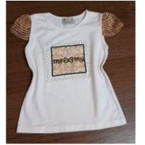 T-shirt charmosa com pedrinhas - 3 anos - Me My