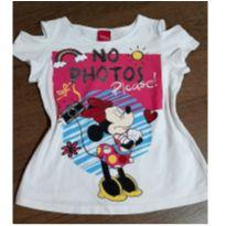 T-shirt fofa da Minnie - 4 anos - Disney