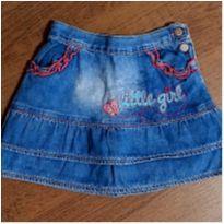 Saia jeans charmosa bordada - 3 anos - Toys & Kids