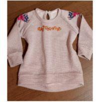 Blusa charmosa com brilho - 1 ano - pequena turma