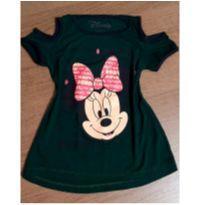 Blusinha Minnie open showder - 6 anos - Disney