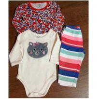 Lotinho bebe fofo 9 meses - 9 meses - Carter`s e Hering Baby
