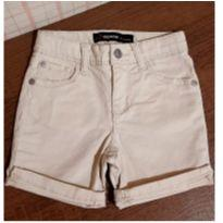 Bermuda jeans bege - 3 anos - Importada e Jordache