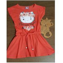 Vestidinho meigo Hello Kitty - 4 anos - Hello  Kitty