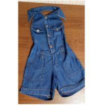Macaquinho jeans - 3 anos - H Lerinha