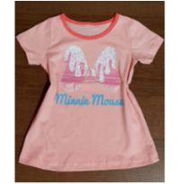 Blusinha Minnie brilho - 4 anos - Disney
