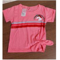 Blusa rosa unicornio com brilho - 4 anos - For Girl