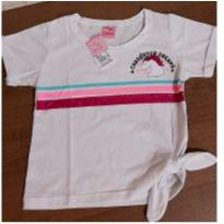 Blusa unicornio brilho - 4 anos - For Girl