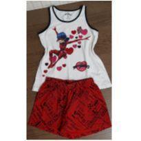 Pijama Lady Bug - 6 anos - Miraculous