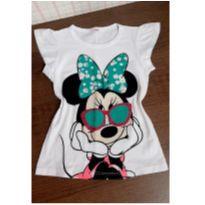 Blusinha charmosa Minnie - 4 anos - Disney