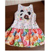 Vestido Mon Sucré Maravilhoso panda - 3 anos - Mon Sucré
