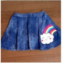 Saia/shorts nuvem fofa - 4 anos - pernambucanas