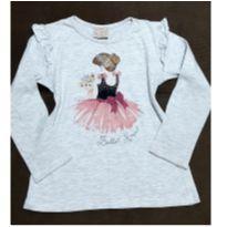 Manga longa Milon bailarina - 4 anos - Milon