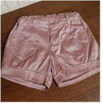 Shorts rosê Up Baby - 6 anos - Up Baby