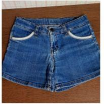 Shorts jeans Hering bolso listras - 8 anos - Hering Kids