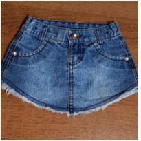 Saia jeans charmosa - 2 anos - Clube do Doce