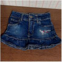 Saia jeans babadinhos - 4 anos - Snoopy