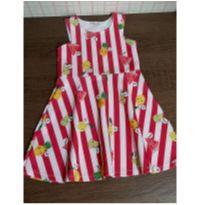 Vestido frutinhas Mon Sucré - 4 anos - Mon Sucré