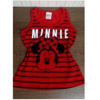 Blusinha vermelha Minnie - 4 anos - Disney