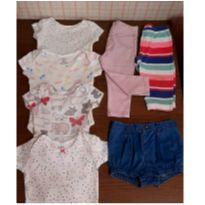 Lotinho bebe Carters - 3 a 6 meses - Carter`s e Zara