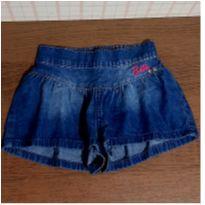 Shorts jeans godê Malwee - 4 anos - Malwee e Barbie