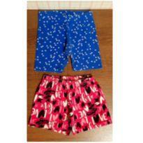 Dupla shorts confortáveis - 4 anos - Lik Kids