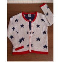Cardigan Hering estrelas - 2 anos - Hering Kids