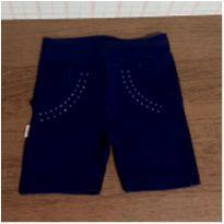 Shorts de cotton com strass - 3 anos - Nine