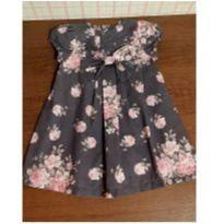 Vestido floral com laço - 1 ano - Up Baby