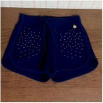 Shorts moletom strass Alakazoo - 4 anos - Alakazoo!