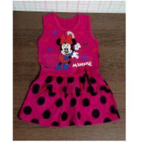 Vestido pink Minnie - 2 anos - Nacional
