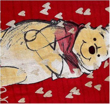 Regatinha fofa ursinho Pooh - 3 anos - Disney