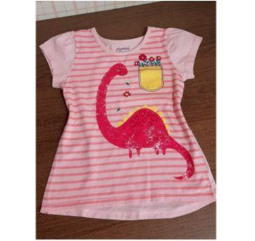 Blusinha meiga dinossauro - 3 anos - Rovitex