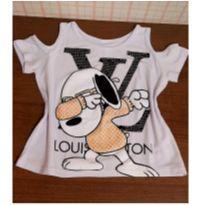 T shirt Snoop Louis Vuitton - 6 anos - Nacional
