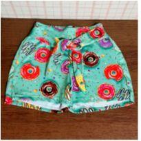 Shorts lindo donut´s - 4 anos - Nacional