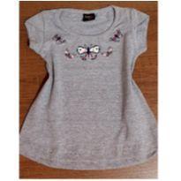Blusa de borboletas com pedrinhas - 3 anos - Kids Minis