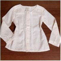 Camisa Baby Club com rendinha - 3 anos - Baby Club