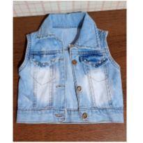 Colete jeans com pérolas - 2 anos - Jeans