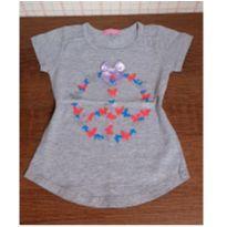 Blusa meiga lacinho - 3 anos - Miga Fuxica