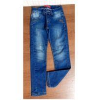 Calça jeans linda com strass - 6 anos - Bicho Solto
