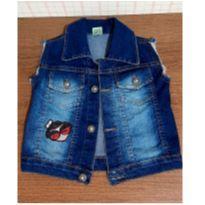 Colete jeans com bordadinho charmoso - 6 anos - Sapeca Kids