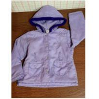 Jaqueta bomber lilás - 3 anos - sonia