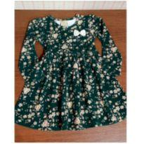 Vestido Milon verde floral - 3 anos - Milon
