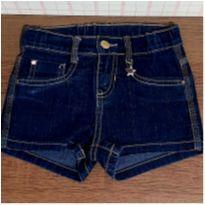 Shorts jeans com pingente de estrela Alakazoo - 6 anos - Alakazoo!