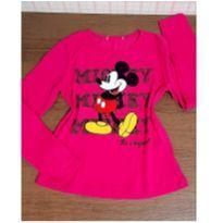 Manga longa Mickey - 6 anos - Disney