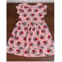 Vestido rosê meigo - 3 anos - DILA
