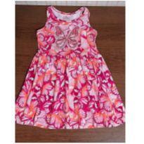 Vestido borboleta com brilho - 4 anos - Brandili