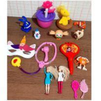 Lote brinquedos fofos menina -  - Variadas