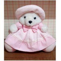 Ursinha grande rosa fofa -  - Pelutinha